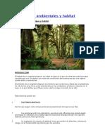Factores Ambientales en El Hábitat