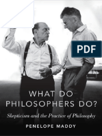 What Do Philosophers Do_ Skepticism and the Practice of Philosophy (2017) by Penelope Maddy