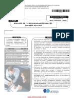 Analista Tecnolo Informacao Suporte Redes