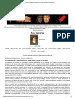 Descartes. Segunda Meditación