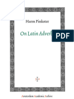 Pinkster - On Latin Adverbs