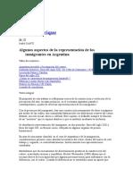 Inmigracion en Argentina