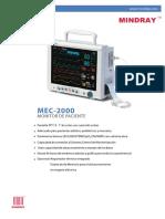 Brochure MEC 2000_Spanish