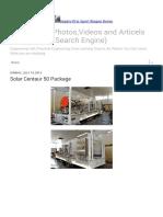 Solar Centaur 50 Package