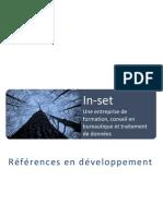 In-set References En Developpement 2008