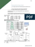 Dimensionamiento de Tanque y Cisterna