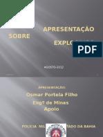 Apresentação Sobre Explosivos Pm (Oficial)
