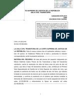 Casación N° 3579-2015, Lima