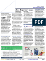 Pharmacy Daily for Fri 27 Jan 2017 - Priceline dispensary surge, PSA standards consultation, Gabrielle Cooper OAM honour, Addictive medication exceeds road toll, Events Calendar and much more