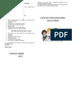 lista de utiles 5 años - 2017.docx