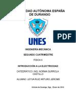 Arturo Jerome Leyva Ruiz Ing.mecanica TI 1 Fisica 18 Enero