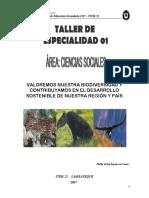 Biodiversidad y Desarrollo Sostenibe