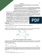 TEOREMA DE BERNOULLI Y APLICACIONES DEL BALANCE DE ENERGÍA AL FLUJO DE FLUIDOS