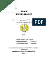 9 Model Nuklir