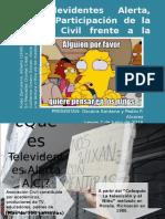 """Alvarez y Santana - Presentación sobre """"Televidentes Alerta A.C."""" de Alfredo Rojas Zamorano"""