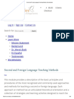 Second and Foreign Language Teaching Methods _ MoraModules