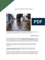 Desastres Naturales de Venezuela
