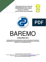 BAREMO 2016