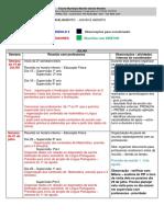 Blog Coordenadoras Cronograma Planejamento Julho Agosto 2014