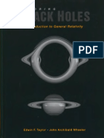 Exploring Black Holes Introduction to General Relativity (Benjamin Cummings, 2000)(ISBN 020138423X), Edwin F. Taylor, John Archibald Wheeler