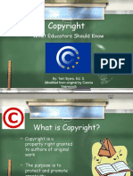 copyright powerpoint