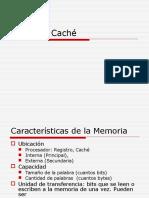 OC02 Memoria Cache