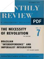 Ruy Mauro Marini - Brazilian interdependence and imperialist integration.pdf