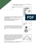 Exámenes Propuestos Teoría de Máquinas y Mecanismos 2013