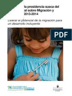 Informe de la presidencia sueca del Foro Mundial sobre Migración y Desarrollo 2013-2014