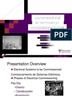 Electrical Commissioning Process