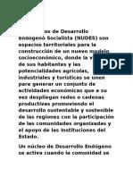Los Núcleos de Desarrollo Endógeno Socialista.docx