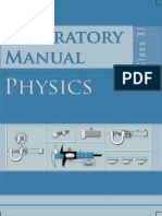133212536-Class-XI-Physics-Lab-Manual pdf | Observational Error