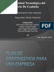 Plan de Contingencia Para Una Empresa