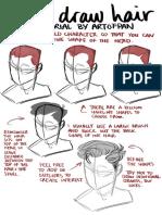 How I Draw Hair - Artofpan