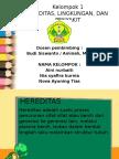 1 - Hereditas, Lingkungan dan Penyakit.pptx