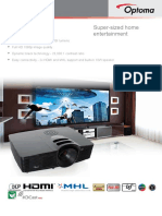 Proyector Optoma HD141X-En