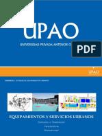 Equipamietos y Servicios Urbanos