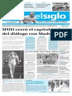 Edición Impresa Elsiglo 27-01-2017