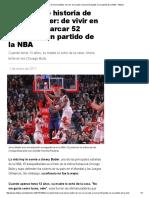 La Increíble Historia de Jimmy Butler_ de Vivir en La Calle a Marcar 52 Puntos en Un Partido de La NBA - Infobae