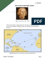 El Tercer Viaje de Cristóbal Colón
