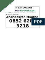informasi layanan bpjs