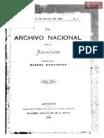 El Archivo Nacional de la Asunción. Director