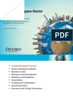 Ontario Aerospace Industry