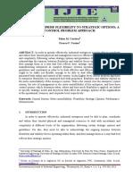 Cordova-2015-Linking Enterprise Flexibility to Strategic Options a Contro Problem Approach