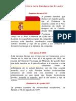 Reseña Histórica de La Bandera Del Ecuado1