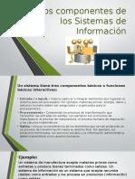 Los Componentes de Los Sistemas de Información