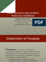 jeansonne management business plan presentation