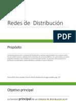 Tema 11 Redes de Distribución Presentacion