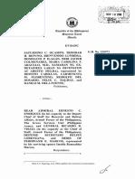 Ocampo v Enriquez- Marcos Burial Case
