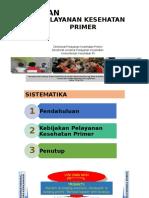 Kebijakan Pelayanan Kesehatan Primer, Lokakarya PPK DKI Jakarta